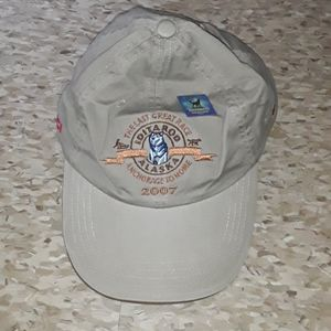 Unique 2007 Iditarod Volunteer Hat w/Pin